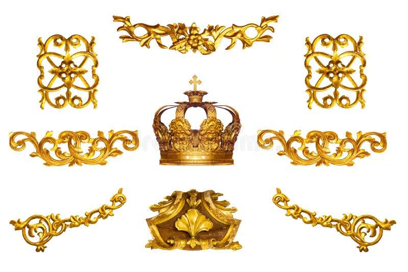 Złoty szczegół obraz stock
