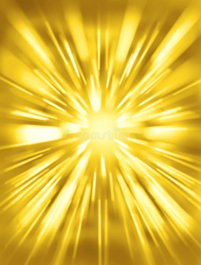 złoty tła kolor żółty royalty ilustracja