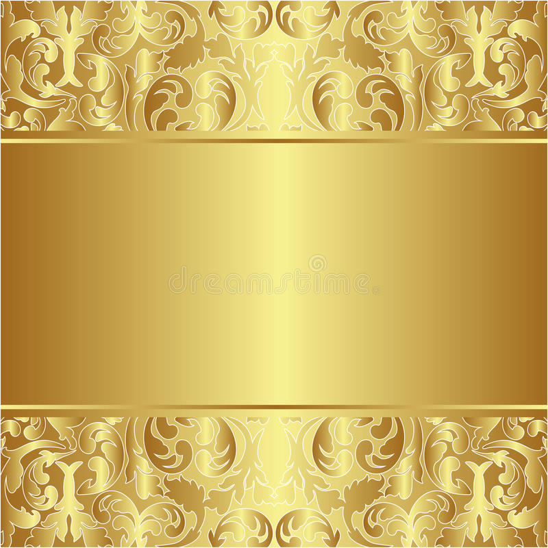 Złoty Tło Zdjęcia Stock