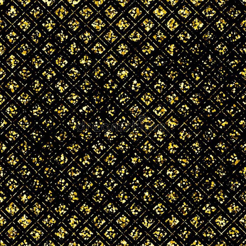 złoty tło royalty ilustracja