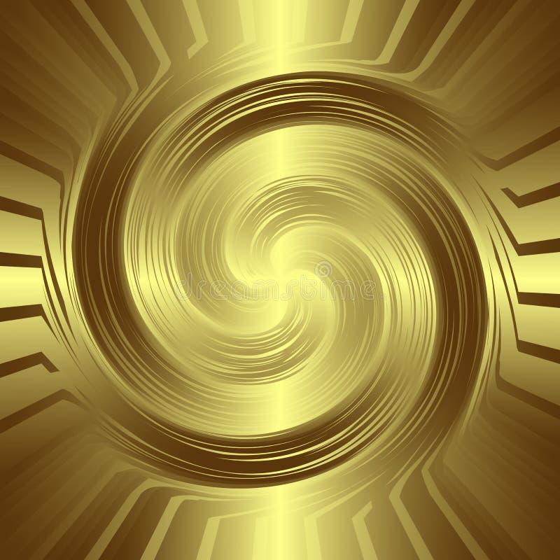 Złoty target152_0_ tło ilustracji