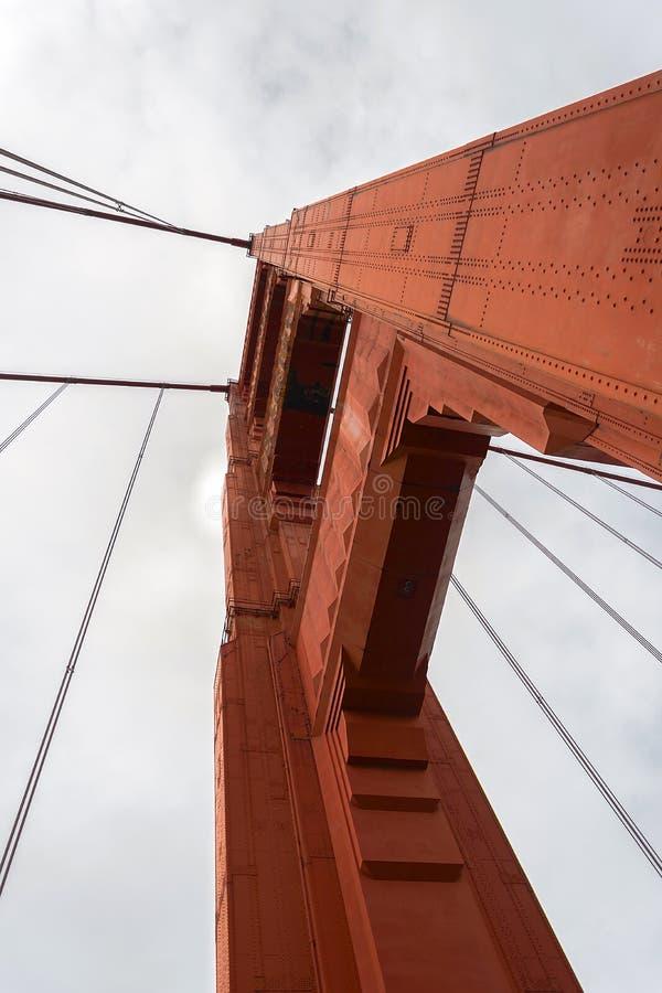 złoty wieży bramy obrazy stock