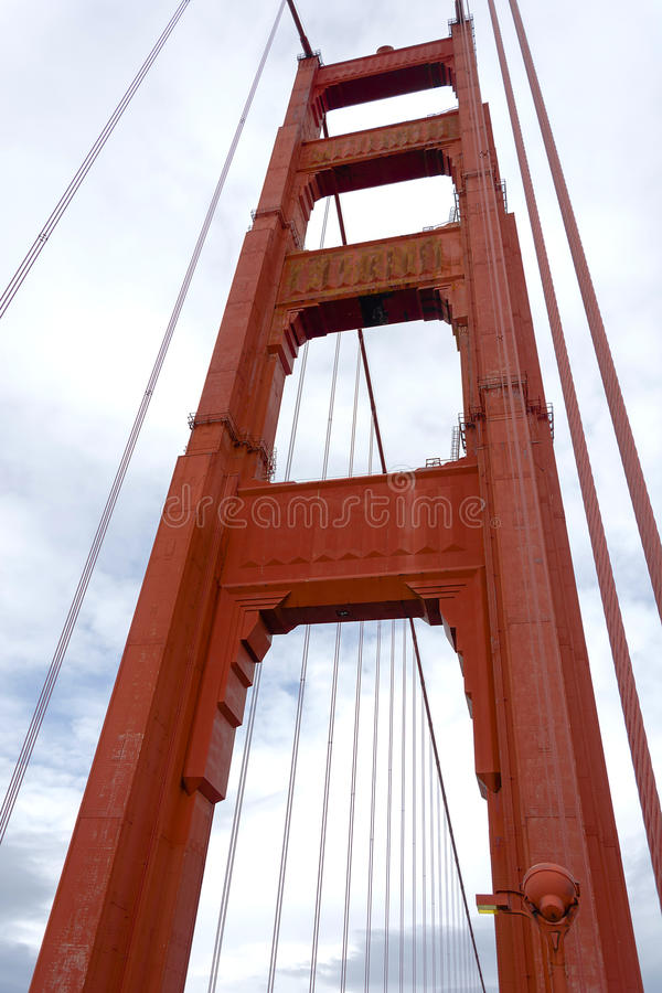 złoty wieży bramy fotografia royalty free