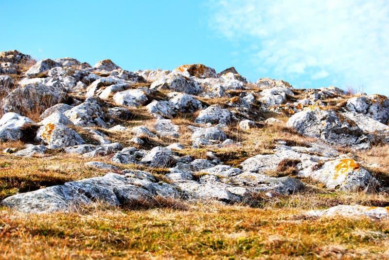 złoty wzgórze zdjęcie stock