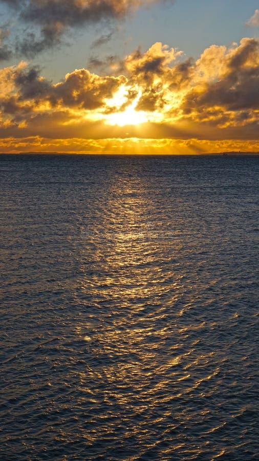 Złoty zima wschód słońca zdjęcia royalty free