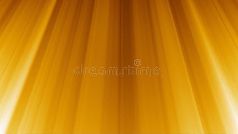 Złotych promieni Lekki tło ilustracja wektor