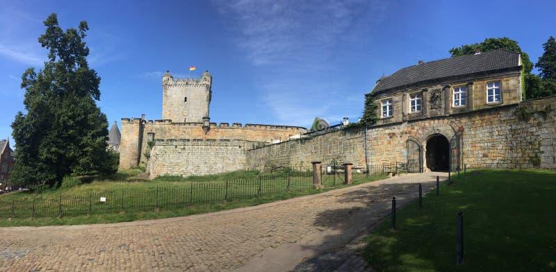 Zły Bentheim kasztel obraz stock