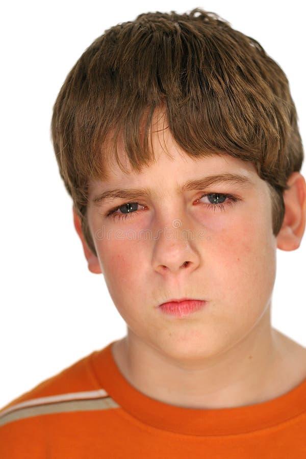 zły chłopak zdjęcie royalty free