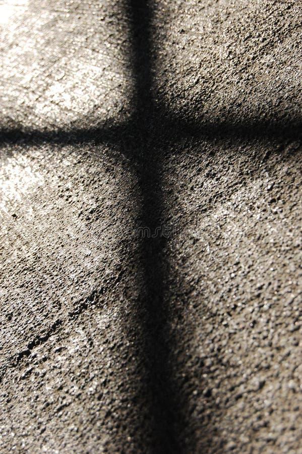 zły cień zdjęcie stock