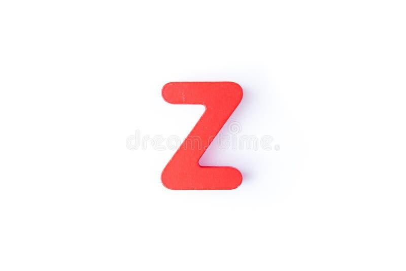Z信件用英语 库存照片