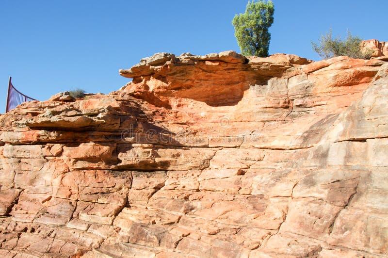 Z-загиб: Сторона скалы стоковое фото rf