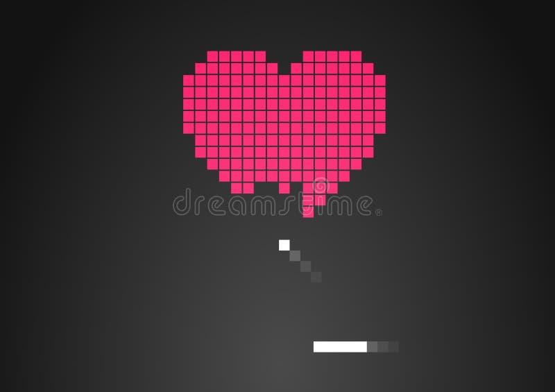 Download Złamane serce ilustracja wektor. Obraz złożonej z niepowodzenie - 21699639
