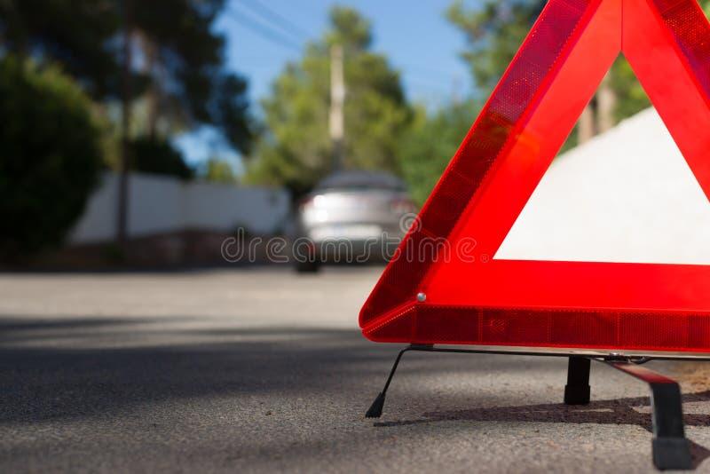 Z awarią samochód zdjęcie stock