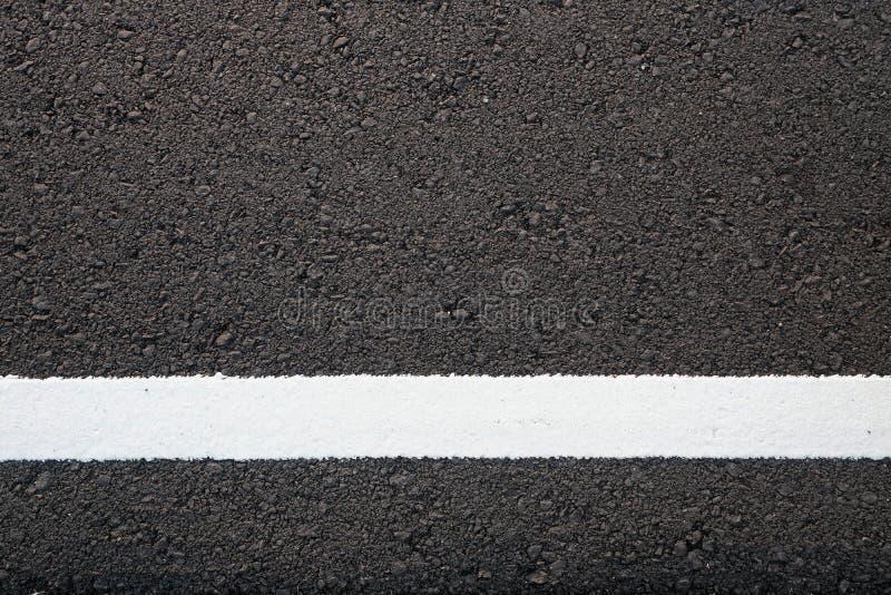 Z biały linią asfaltowa drogowa tekstura fotografia royalty free