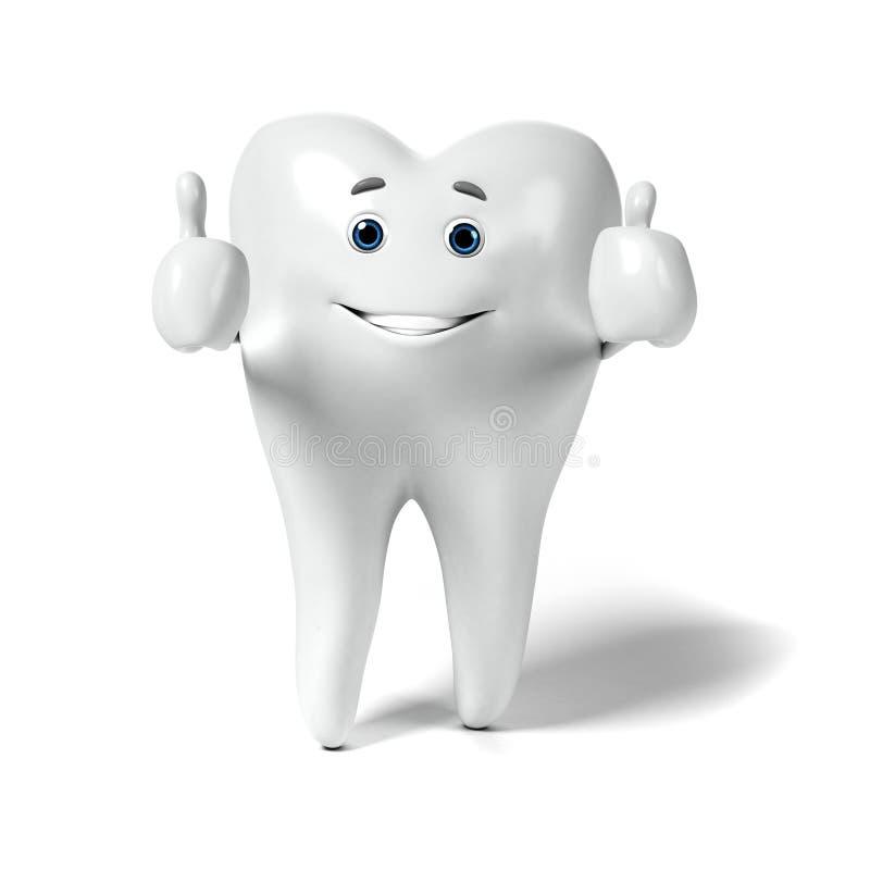Download Zębu charakter ilustracji. Ilustracja złożonej z medyczny - 28962663