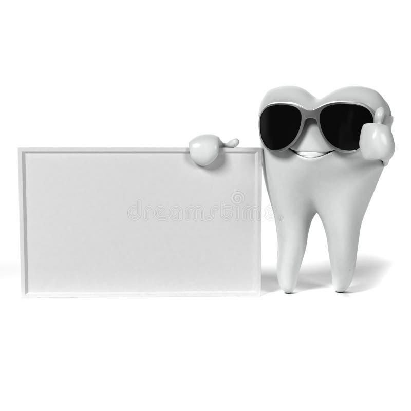 Download Zębu charakter ilustracji. Ilustracja złożonej z molar - 28962668