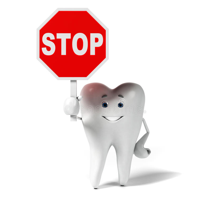 Download Zębu charakter ilustracji. Ilustracja złożonej z mądrość - 28962692