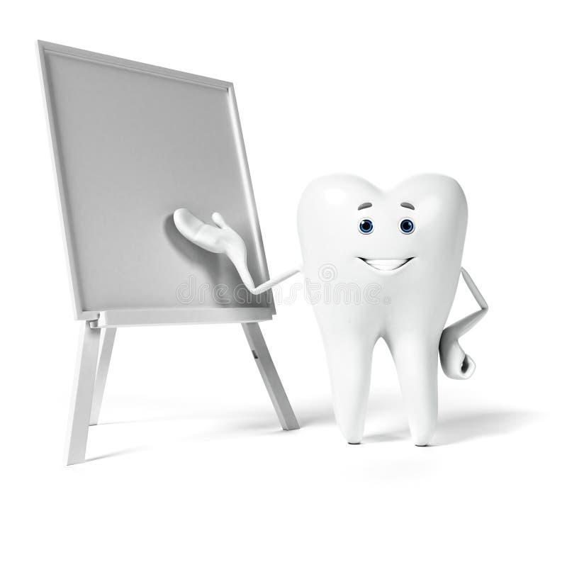 Download Zębu charakter ilustracji. Ilustracja złożonej z stomatologiczny - 28962693