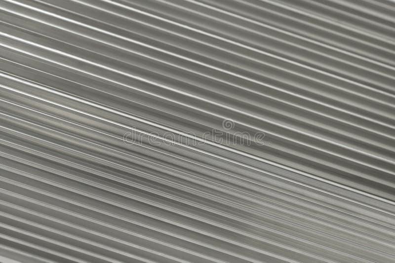 Z Diagonalnymi Uderzeniami srebny Tło fotografia stock