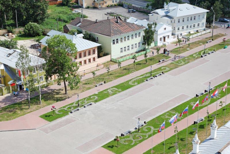 Z domami Kremlin kwadrat zdjęcie stock
