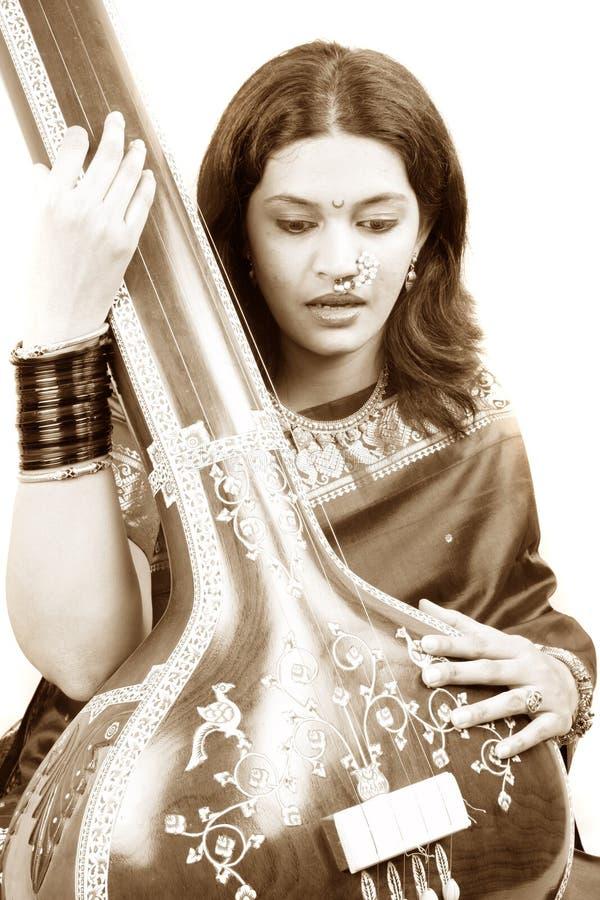 z klasą indyjski piosenkarz zdjęcia stock