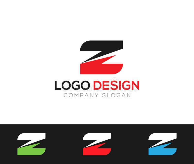 Z letter Logo Template online store vectors illustration. This is very easy to use. U ca Use as your won simply vector illustration