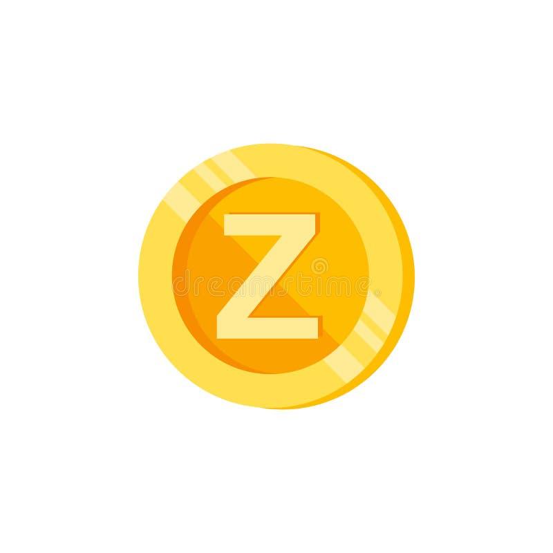 Z, list, mennicza kolor ikona Element koloru finanse znaki Premii ilości graficznego projekta ikona Znaki i symbol kolekci ikona ilustracji