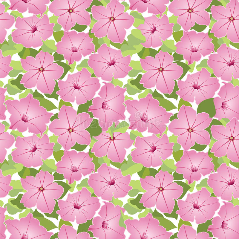Z menchia kwiatem bezszwowa tekstura ilustracja wektor