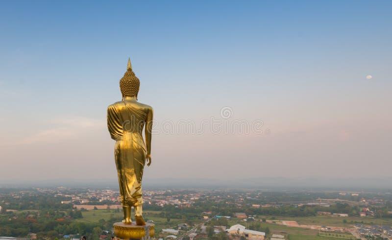 Download Złota Buddha Statua W Wacie Phra Który Khao Noi, Nan Prowincja, Zdjęcie Stock - Obraz złożonej z landmark, buddhism: 53776326