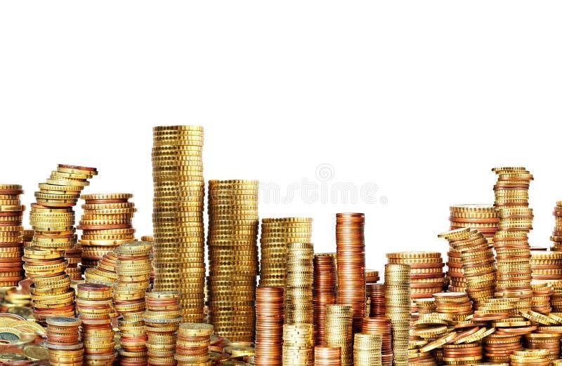 Download Złote monety obraz stock. Obraz złożonej z złoty, skarb - 53779147