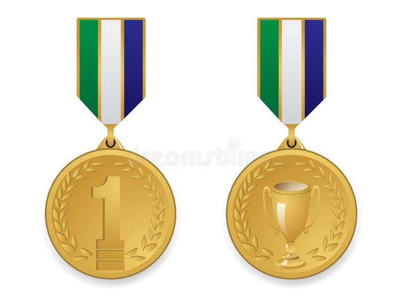 Złoty Medal Zdjęcia Stock