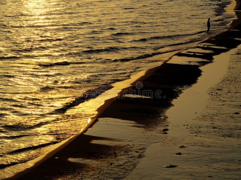 Download Złoty morze zdjęcie stock. Obraz złożonej z niezrównoważenie - 28955672