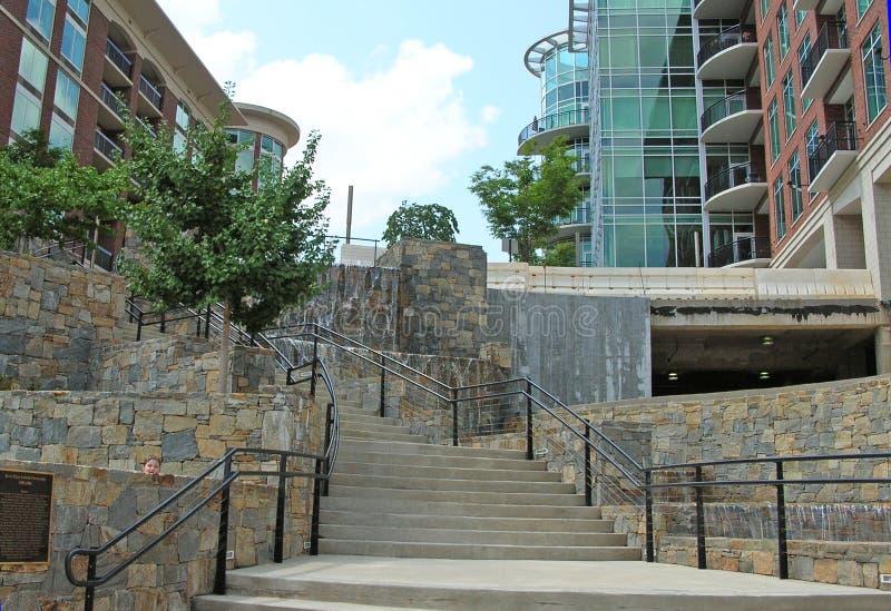 z parkway schody obraz royalty free