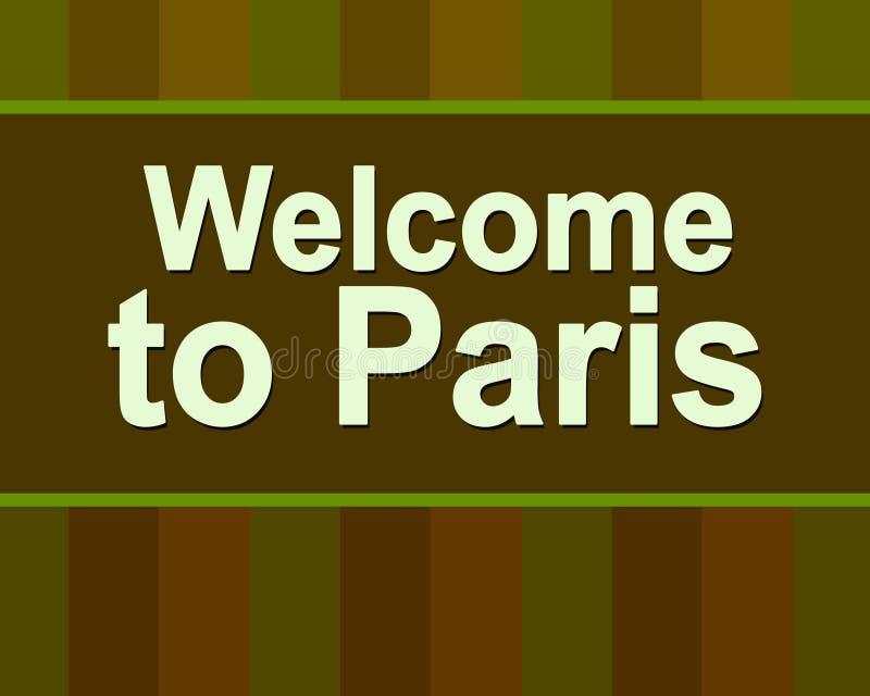 z pary?a, Tekst Pary? Literowanie plakat dla tw?j projekta Francja Podr??y promo Paryska ulotka ja kocham Paris royalty ilustracja