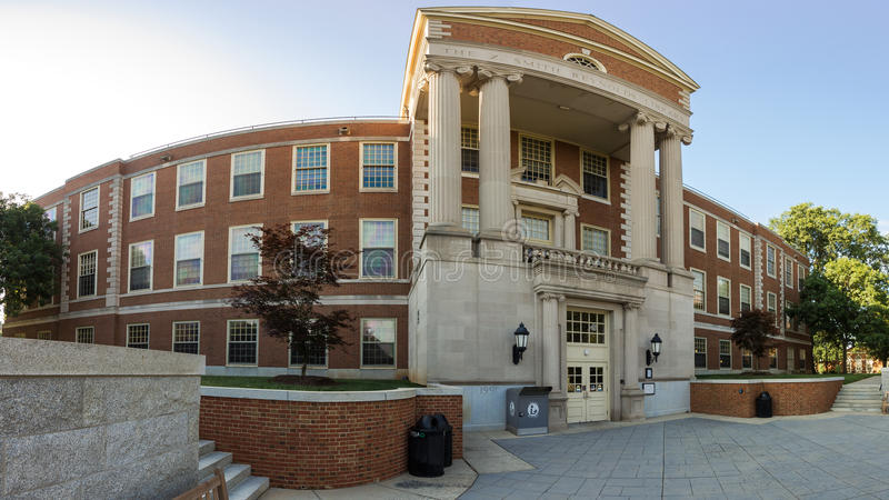 Z. Smith Reynolds Library at WFU. Z. Smith Reynolds Library at Wake Forest University in Winston-Salem, NC royalty free stock photos