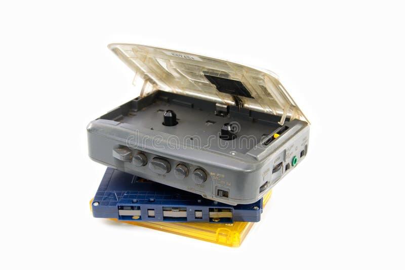 Z Walkman kasety Taśma zdjęcie stock