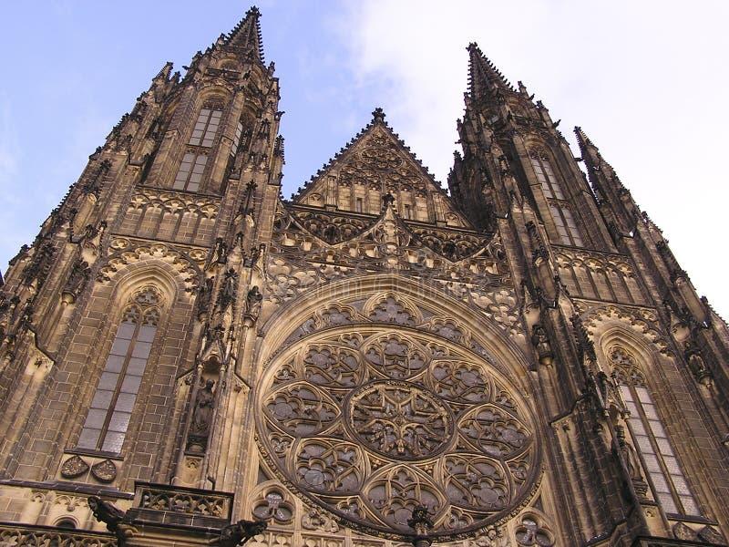 Z Zamku Monuments1 Prague Katedry Zdjęcie Stock