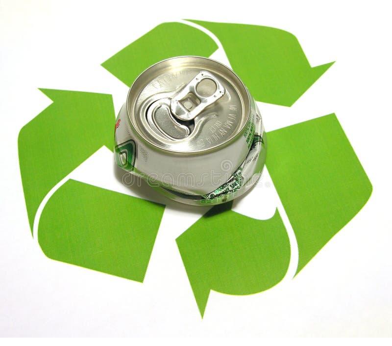 z zastrzeżeniem recyklingu obraz stock
