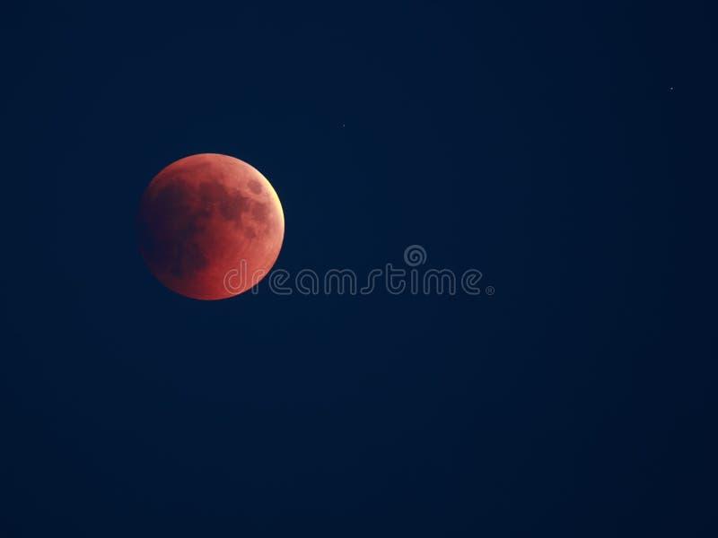 zaćmienie księżycowy zdjęcia royalty free