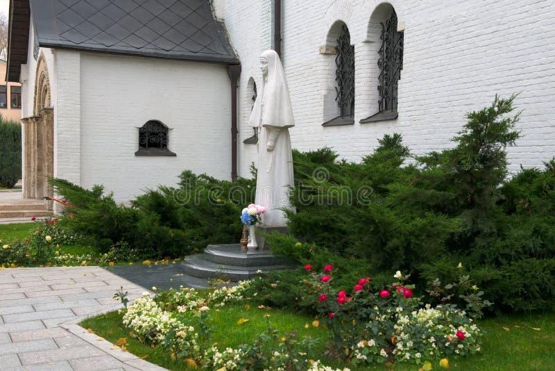 Założyciel Marfo-Mariinsky klasztor litość Uroczysty Duchess Elizabeth Romanova obrazy royalty free