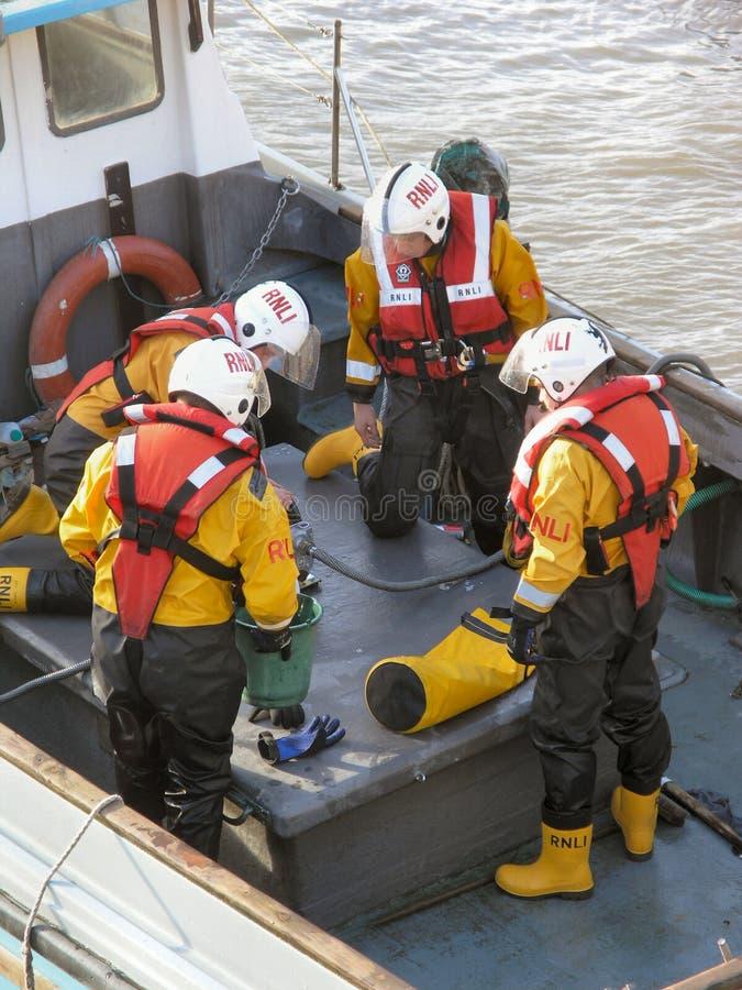 załoga lifeboat obrazy royalty free
