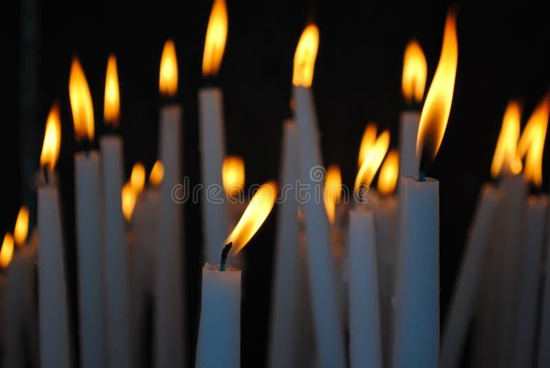 Zaświecać świeczki obrazy royalty free