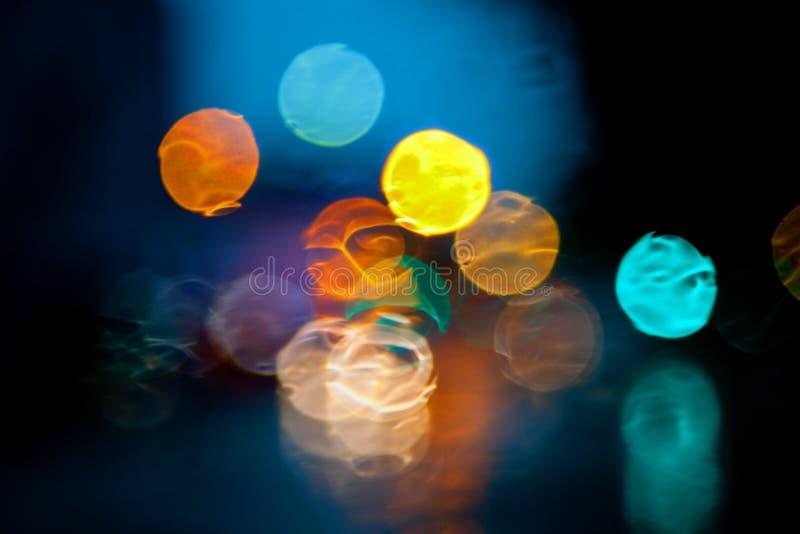 zaświeca neon fotografia stock