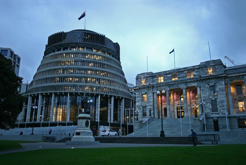 Zaświecający ul, Wellington, Nowa Zelandia zdjęcie royalty free