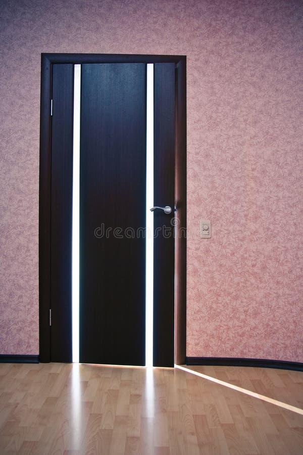 za drzwiowym światłem zdjęcie stock