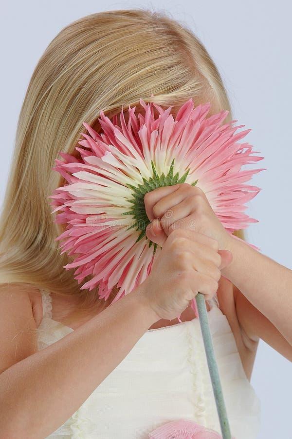 Download Za Kwiatu Dziewczyny Target1567_0_ Obraz Stock - Obraz: 21561013