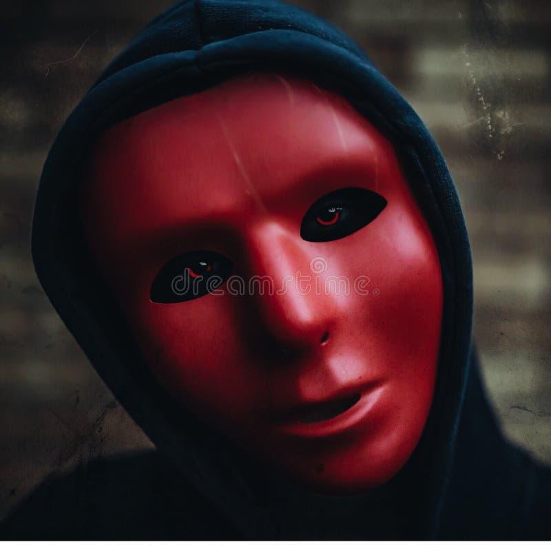 za maską obrazy royalty free