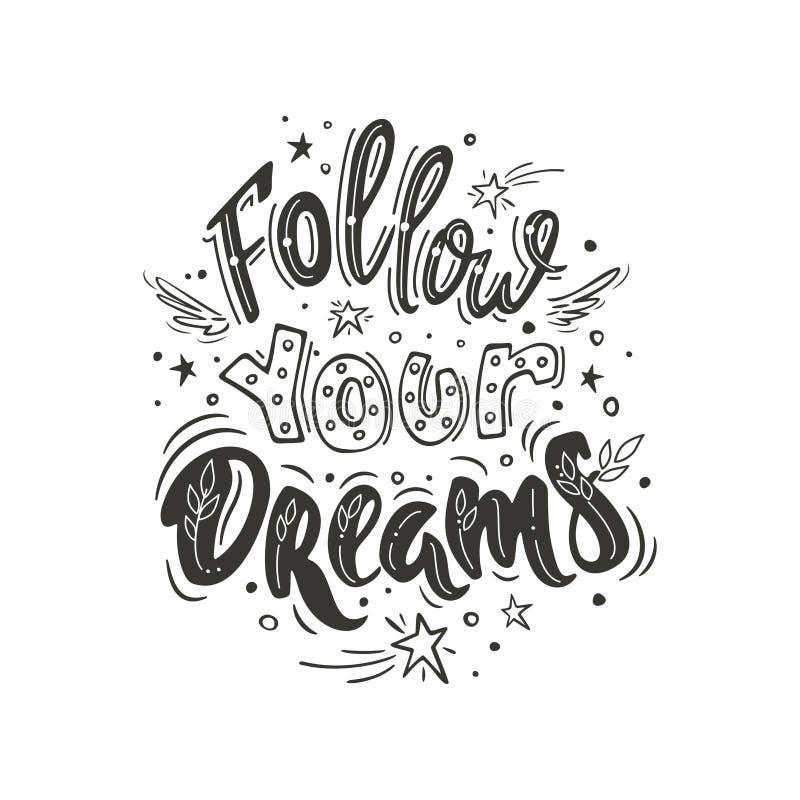 za twoje sny ilustracji