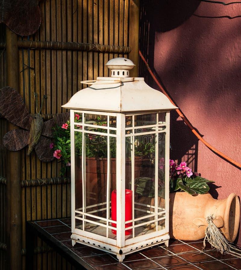 Zaświecający, Plenerowa struktura, lampion, Gazebo fotografia stock