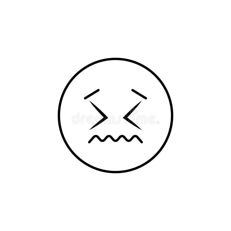zaaferowana ikona Szczegółowy set avatars zawód ikony Premii ilości kreskowy graficzny projekt Jeden inkasowe ikony f ilustracja wektor